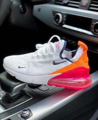 Кроссовки женские Nike Air Max 270 Pink/orange