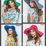 Льняная шляпа. летняя шляпа, Женская панама, лен