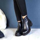 В наличии по скидке ботинки натуральная кожа