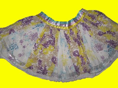 Нарядная юбка с паетками на 3-4 года,Autograph