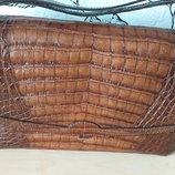 Irv vintage сумка из кожи крокодила