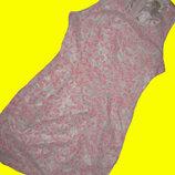 Нарядное,кружевное платье на 12-15 лет,размер S.VERA&LUCY