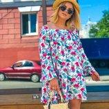 Милое платье летнее 42 - 48 две расцветки
