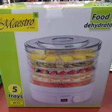 Электрическая сушилка для фруктов и овощей Maestro MR-765 5 ярусов