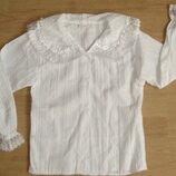 Школьная форма.Блузка белая