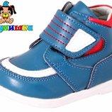 Демисезонные ботинки Шалунишка 100-12 синий красный