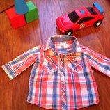 Рубашка для мальчика 86 см