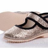 Текстильные туфли для девочки р.22-29