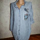 халат-рубашка котоновый р10