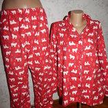 пижама байковая рубашка со штанишками р20-22 большой размер новая
