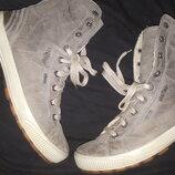 5.5-25.5 нубуковая кожа ботинки Legero