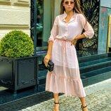 Платье рубашка 42-46 размеры 4 цвета