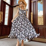 Милое, нежное летнее платье две расцветки