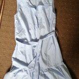 Atmosphere воздушное, красивое платье, оборка, хлопок, 12 размер