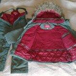 Зимний комбинезон Kiko, р. 110-116. Костюм для мальчика, куртка и полукомбинезон. Оригинал, отличное