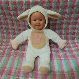 Маленькая кукла пупс Овечка Little Lamb от Peterkin, рост 22см