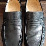 Туфли-Мокасины Clarks 8,5, 43р., 28,5см.