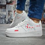 Кроссовки Nike Air, белые, 36,37,38,39.40 размер замша
