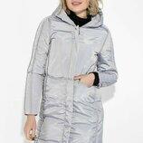 Пальто женское с капюшоном 154V002
