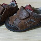 Ботинки Clarks коричневые натуральная кожа