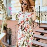Милое платье летнее две расцветки