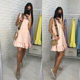 Платье 42-46 размеры 5 расцветок