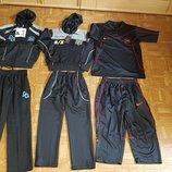Спортивный костюм D&G в школу S,M, XL черный с серым, дешево, распродажа