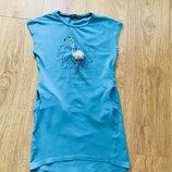 Модное платье на девочку рост 134