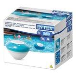 Колонка плавающая, Bluetooth, LED-подсветка, INTEX, 28625