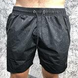Мужские купальные шорты Louis Vuitton Swimming Trunk Monogram Black черные