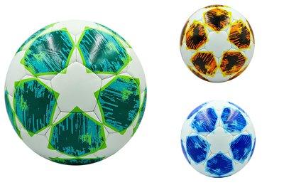 Мяч футбольный 5 Premier League KD-07 PU, сшит вручную 3 цвета