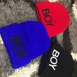 Деми шапка Ог48-52 на 1-6 лет 3 цвета