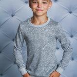 Джемпер для мальчика светло-серый 122-152