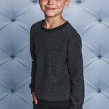 Джемпер для мальчика темно-серый 122-152
