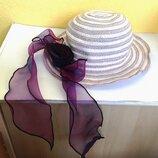 Шляпа от солнца детская, летняя.