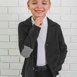 Стильный пиджак для мальчика 128-152
