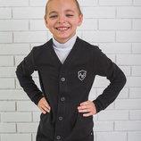 Кофта для мальчика черная 128-152