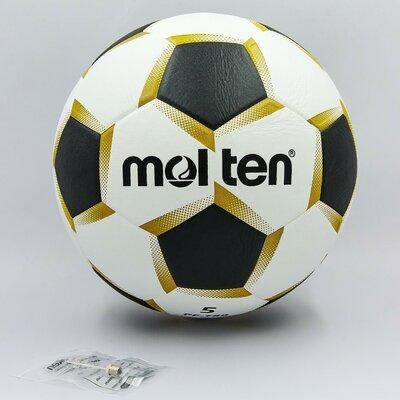 Мяч футбольный 5 Molten 750 PU, сшит вручную