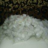 Зимний пух после вычеса, порода сибирский хаски. Собачья шерсть.