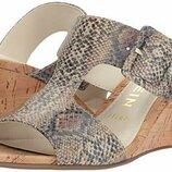 элегантные кожаные босоножки Anne Klein размер евро 39 US 8,5