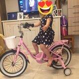 Каспер 14 16 20 велосипед двухколесный с корзинкойRoyal voyage Casper