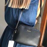 Клатч сумка кроссбоди David Jones 6100-2 черный