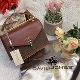 Клатч сумка David Jones CM5363 бордовый