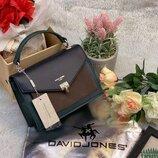 Клатч сумка David Jones CM5363 темно-синий