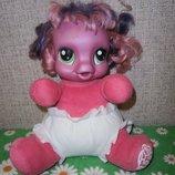 Пони мягкая интерактивная игрушка Литтл пони My little Pony 25 см