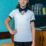 Оригинальная школьная блуза для девочек, блуза для школы