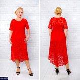 Новиночки Классное платье, размеры 52- 58