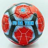 Мяч футбольный 5 гриппи Bayern Munchen 0131 PVC, сшит вручную