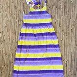 Яркий летний сарафан для девочки 140 - 152 см. Новый