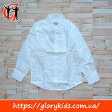 Белая рубашка для мальчика Glo-Story, р. 110-160